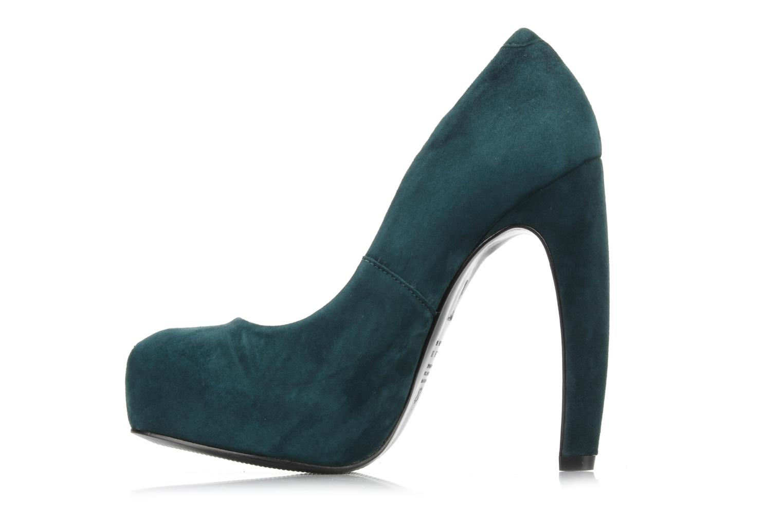 Zapatos de tacón Studio TMLS Stomp Azul vista de frente