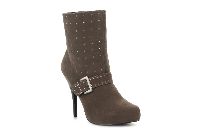 Morgan Mael (Gris) - Bottines et boots chez Sarenza (78952)