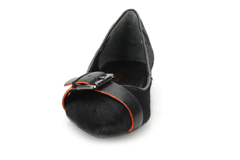 Ballerina Nine West Bernadette Svart bild av skorna på