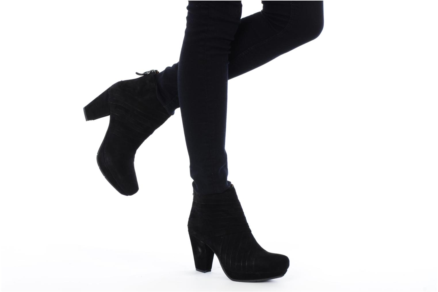 Ankle boots Earthies Earthies jasko Black view from underneath / model view