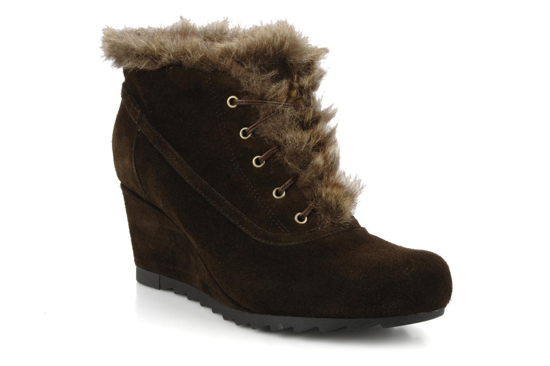 Chaussures à lacets Earthies Earthies seriph Marron vue détail/paire