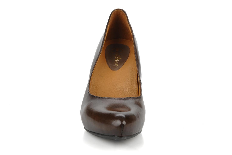 Escarpins Earthies Earthies talera Marron vue portées chaussures