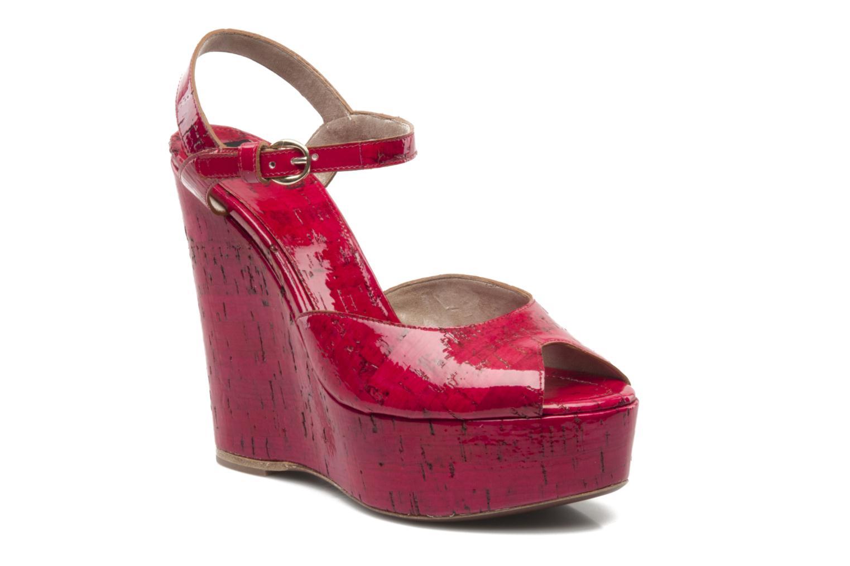 Sandales et nu-pieds D&G Piral Rouge vue détail/paire