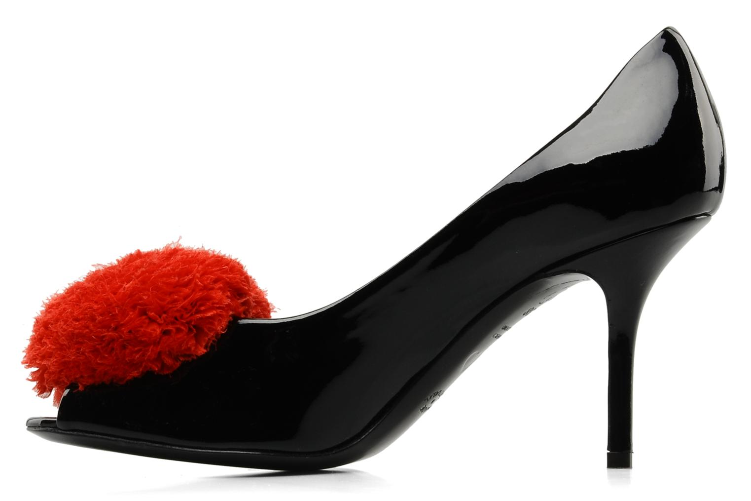 High heels Moschino Cheap & Chic Charonne Black front view