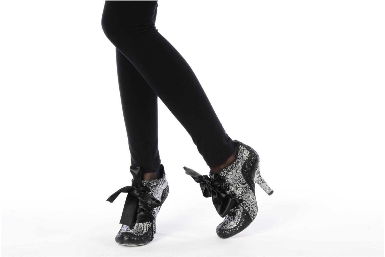 Chaussures à lacets Irregular Choice Abigails party Or et bronze vue bas / vue portée sac