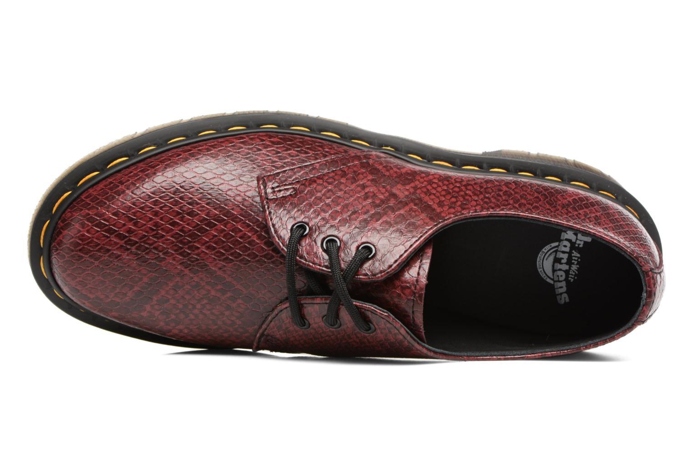 Chaussures à lacets Dr. Martens 1461 W Bordeaux vue gauche
