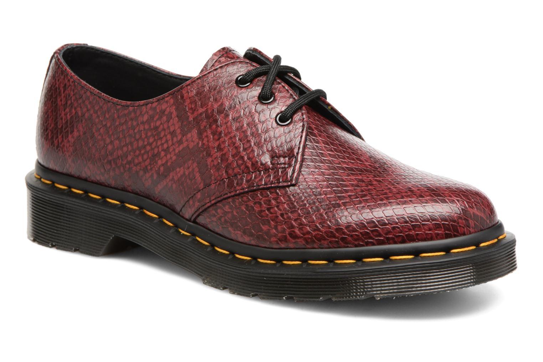 Chaussures à lacets Dr. Martens 1461 W Bordeaux vue détail/paire