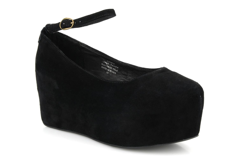High heels Jeffrey Campbell Beebee Black detailed view/ Pair view
