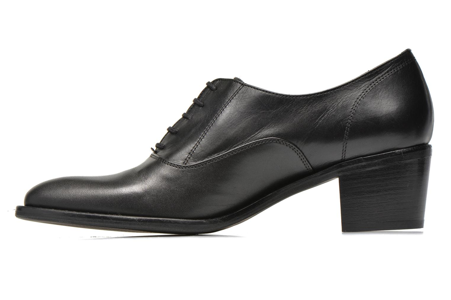 Lace-up shoes Georgia Rose Daporo Black front view