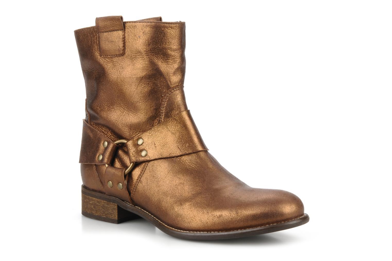 Bottines et boots Georgia Rose Dasine Or et bronze vue détail/paire