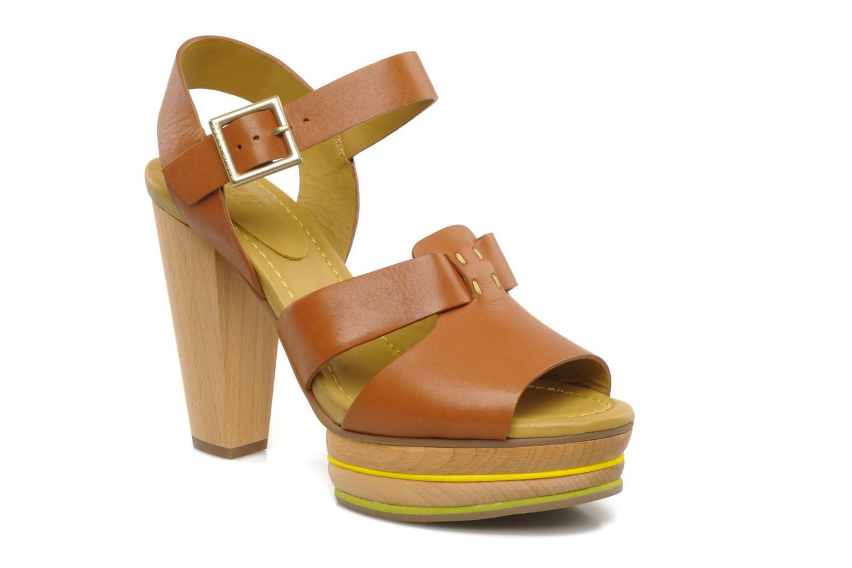 Sandales et nu-pieds See by Chloé Palma Marron vue détail/paire