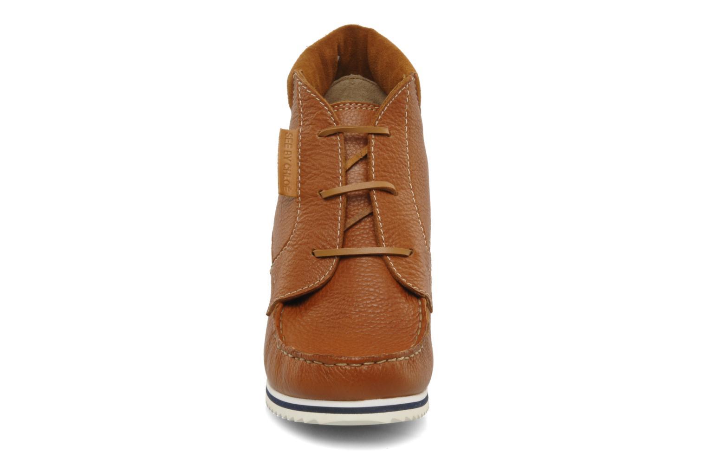Bottines et boots See by Chloé Gramercy Park Marron vue portées chaussures