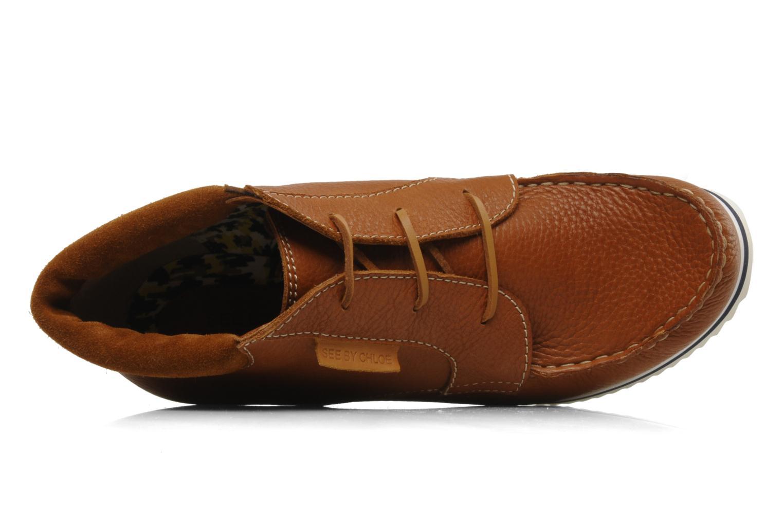 Bottines et boots See by Chloé Gramercy Park Marron vue gauche