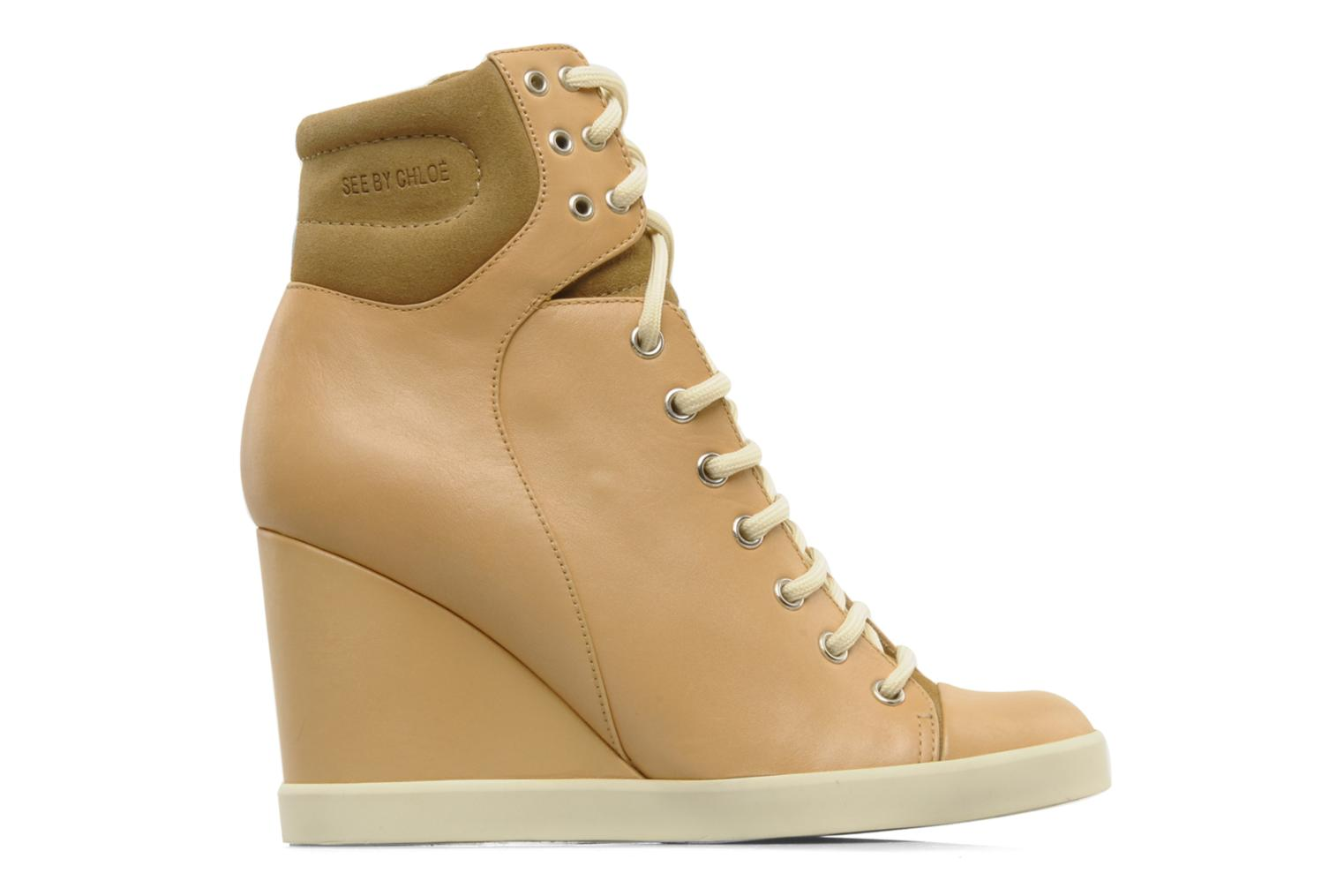 Sneakers See by Chloé Timota Beige achterkant