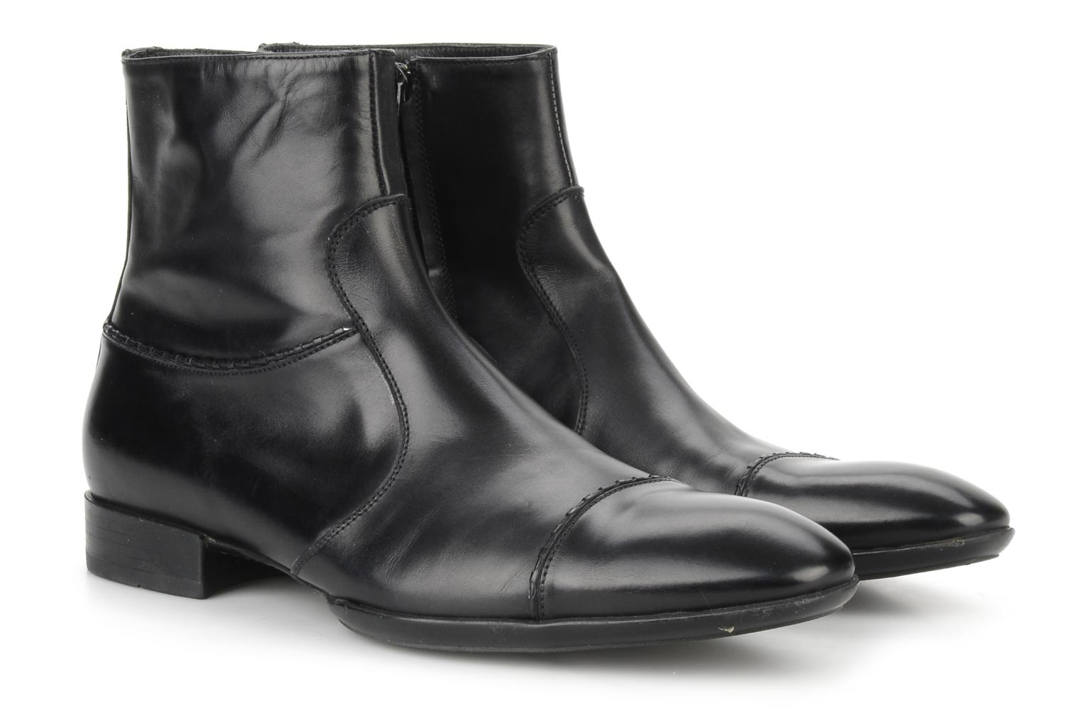 Ankle boots Doucal's Jeannot Black 3/4 view