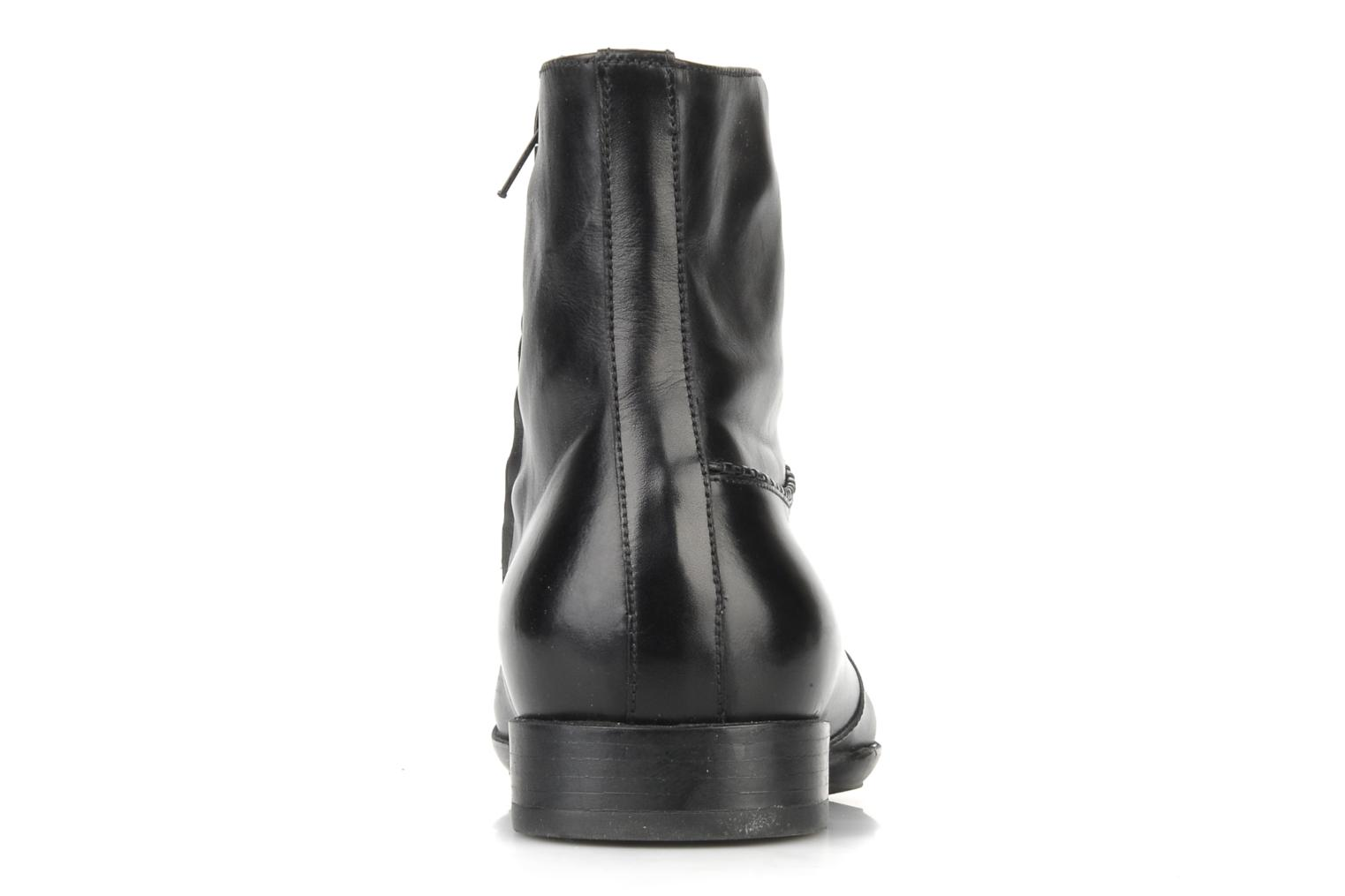 Ankle boots Doucal's Jeannot Black view from the right
