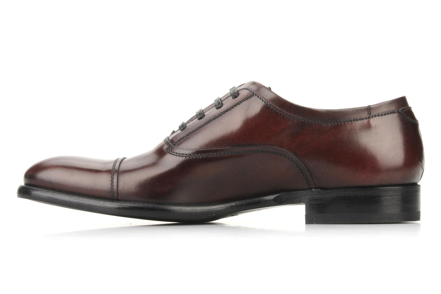 Lace-up shoes Doucal's Pierrot Burgundy front view