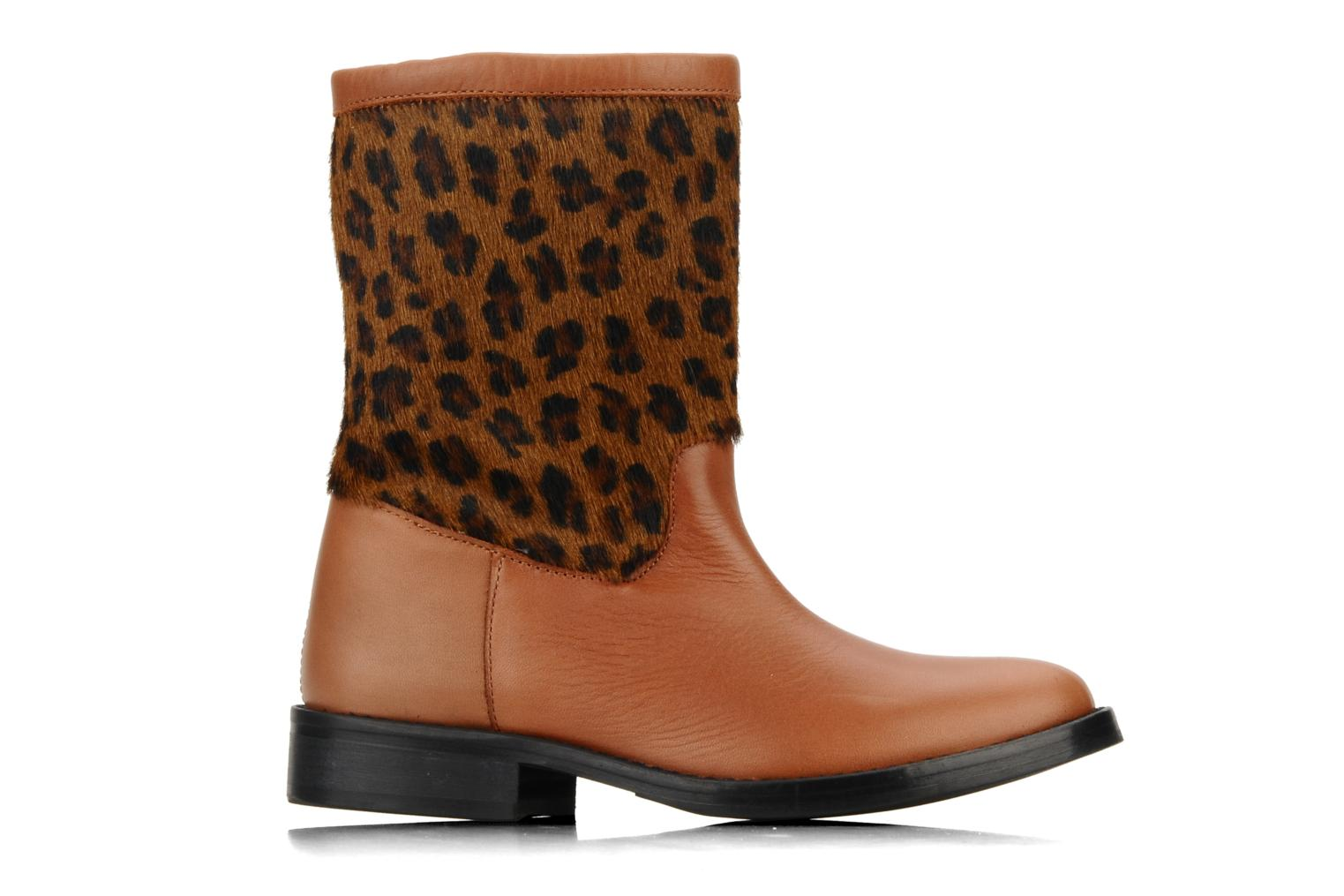 Ankle boots C'Entre Maman & Moi! Stephanie porto Brown back view