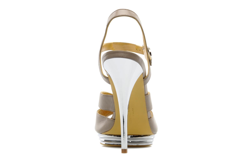 Sandali e scarpe aperte Charles Jourdan Marilyne Grigio immagine destra
