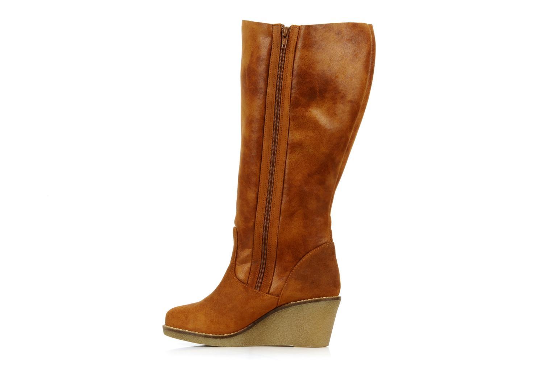 Stiefel Castaluna Stella XL braun ansicht von vorne