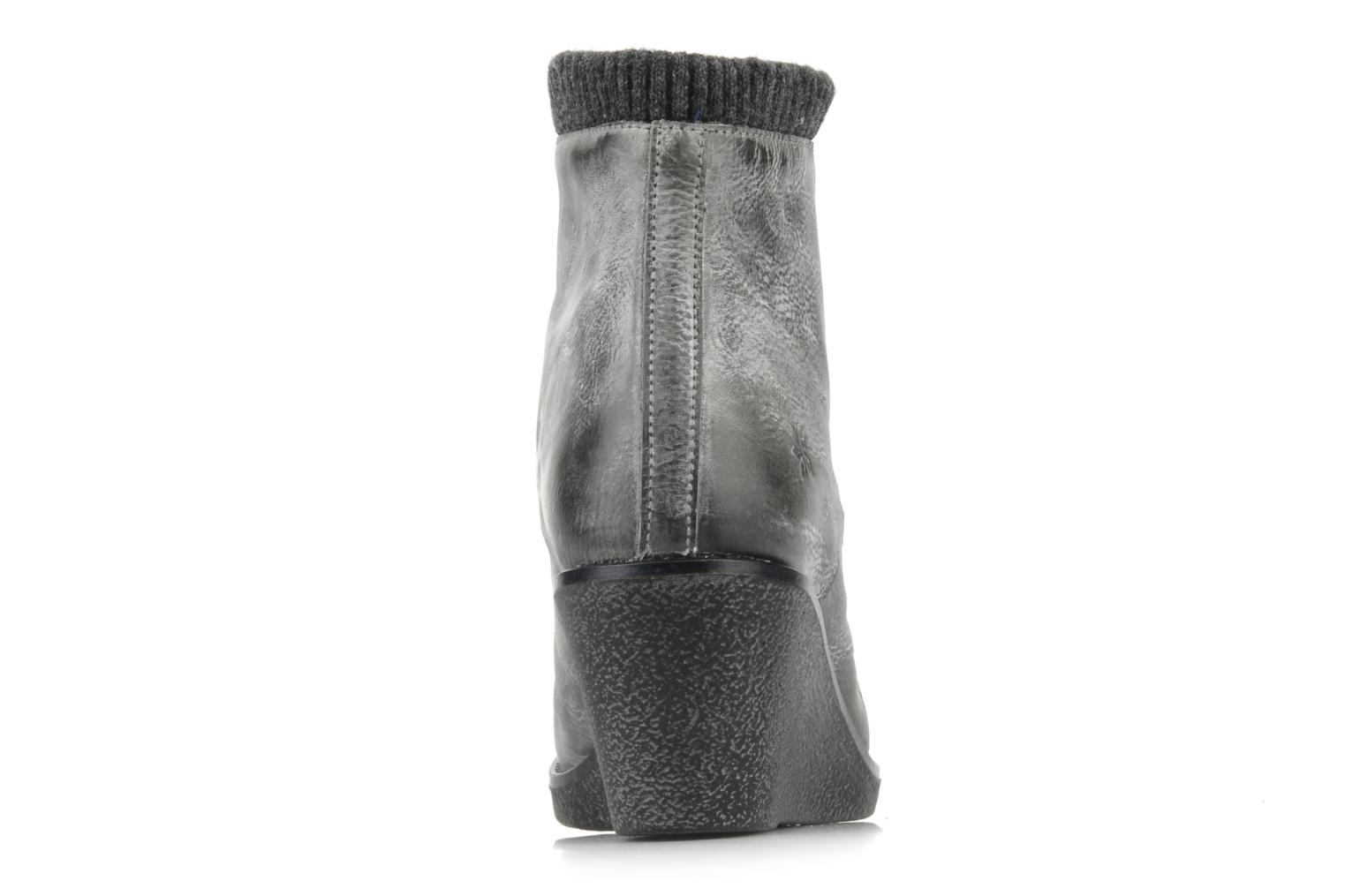 Ankle boots Castaluna Mildred L Grey view from the right