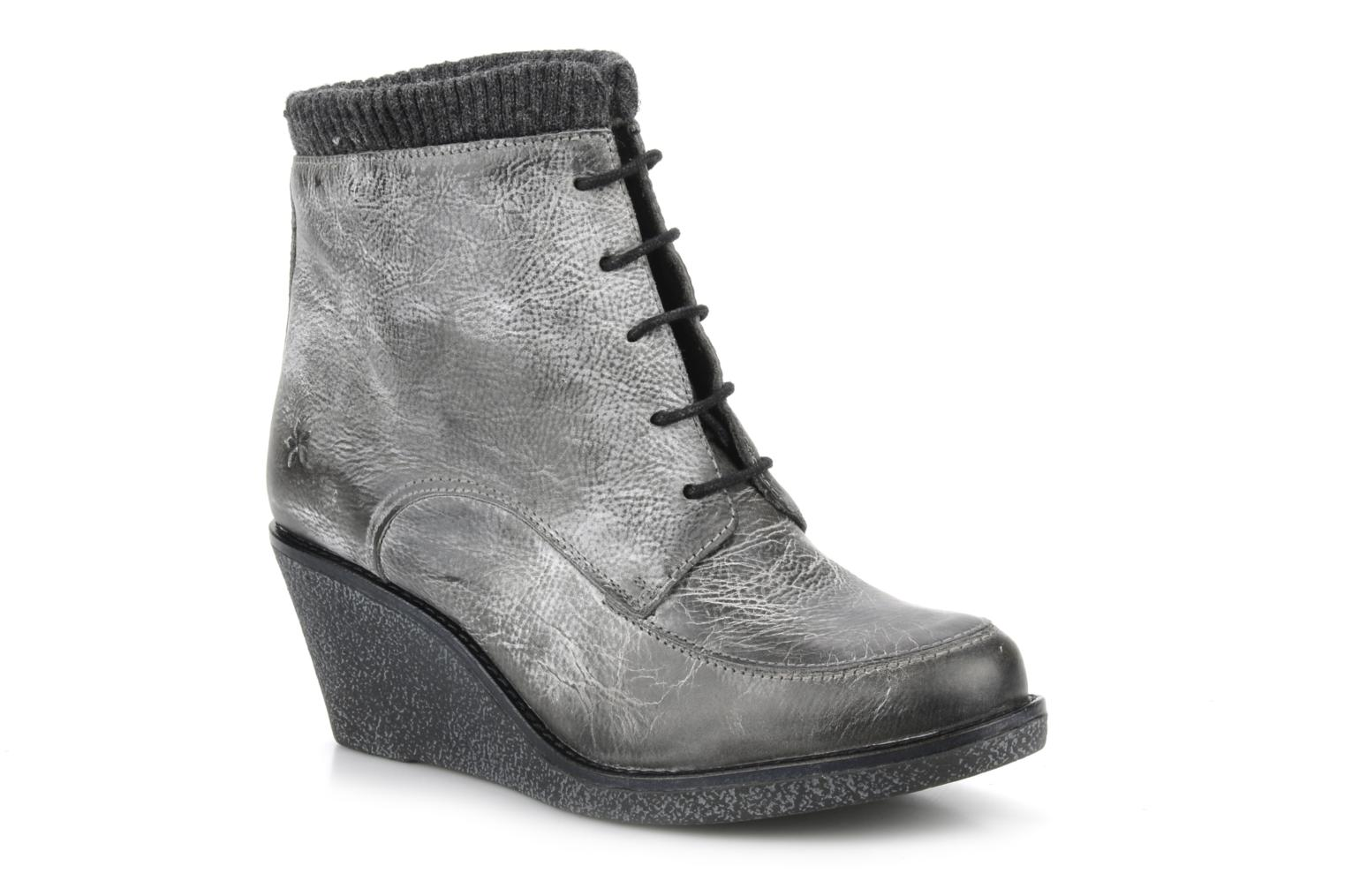 Ankle boots Castaluna Mildred L Grey detailed view/ Pair view