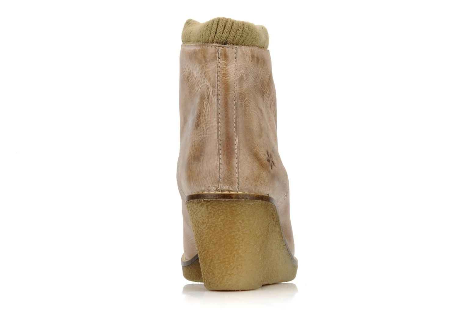 Ankle boots Castaluna Mildred L Brown view from the right