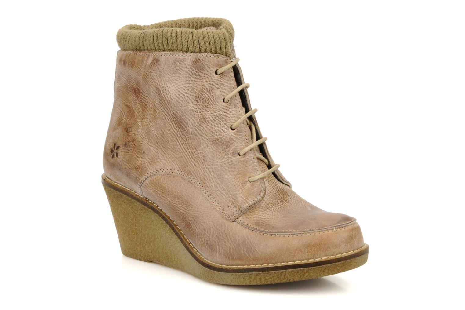 Ankle boots Castaluna Mildred L Brown detailed view/ Pair view