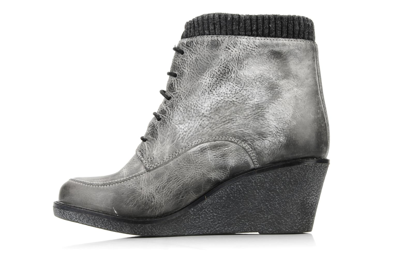 Botines  Castaluna Mildred XL Gris vista de frente