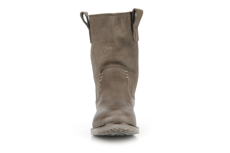 Bottines et boots Jonak Mariana Gris vue portées chaussures