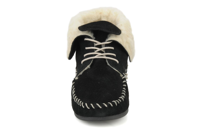 Chaussures à lacets Jonak Babs Noir vue portées chaussures
