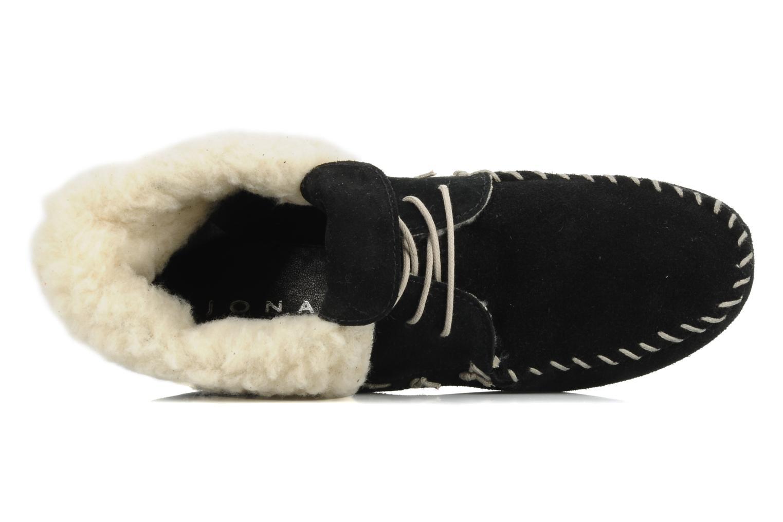 Zapatos con cordones Jonak Babs Negro vista lateral izquierda