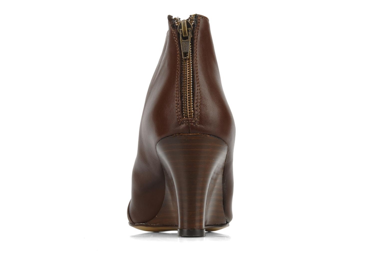 Bottines et boots Georgia Rose Majuro Marron vue droite