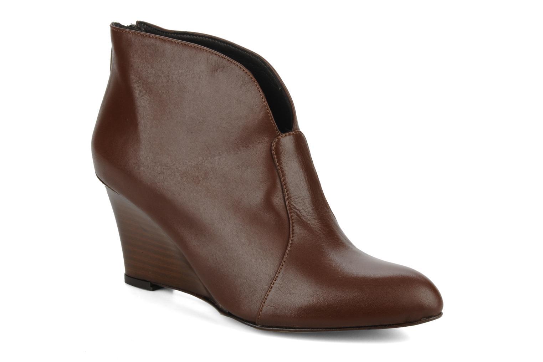 Bottines et boots Georgia Rose Majuro Marron vue détail/paire