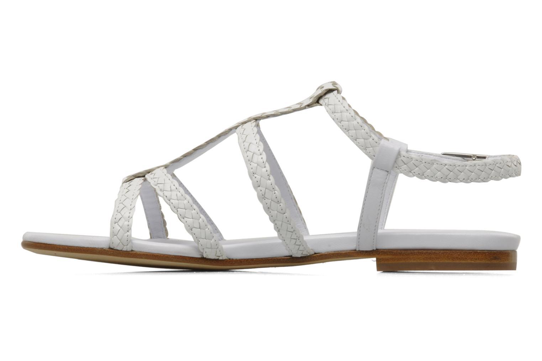 Sandals Stephane Kélian Ifni White front view