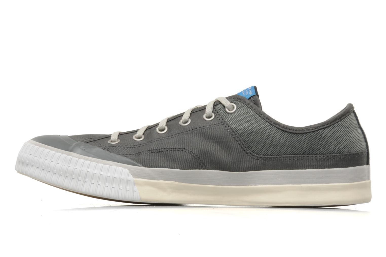 Sneaker G-Star Campus Courier Prowl Drill grau ansicht von vorne