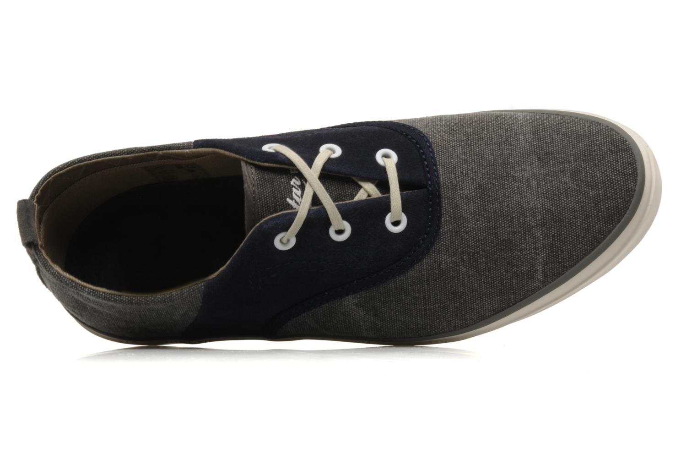 Stun Oxford Navy Suede/Textile-Grey