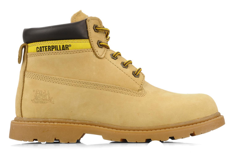 Stiefeletten & Boots Caterpillar Colorado Plus beige ansicht von hinten