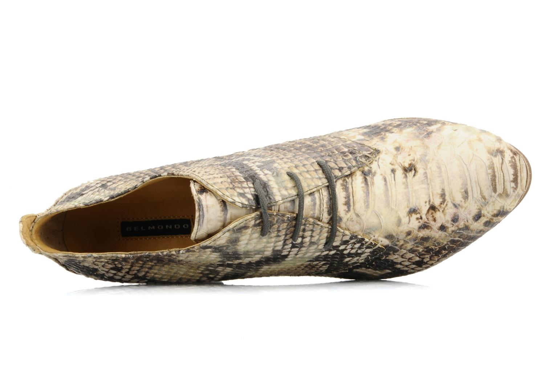Chaussures à lacets Belmondo Belato Gris vue gauche