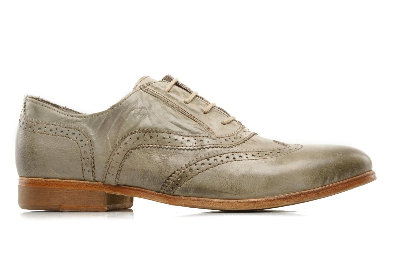 Chaussures à lacets IKKS Carey Gris vue derrière