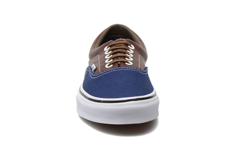 Sneaker Vans Era braun schuhe getragen