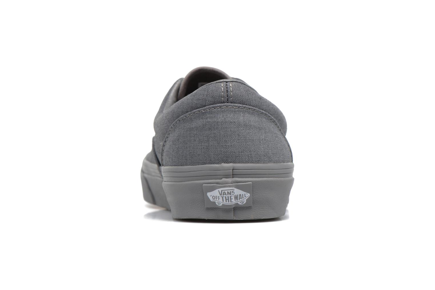Trainers Vans Era Grey view from the right