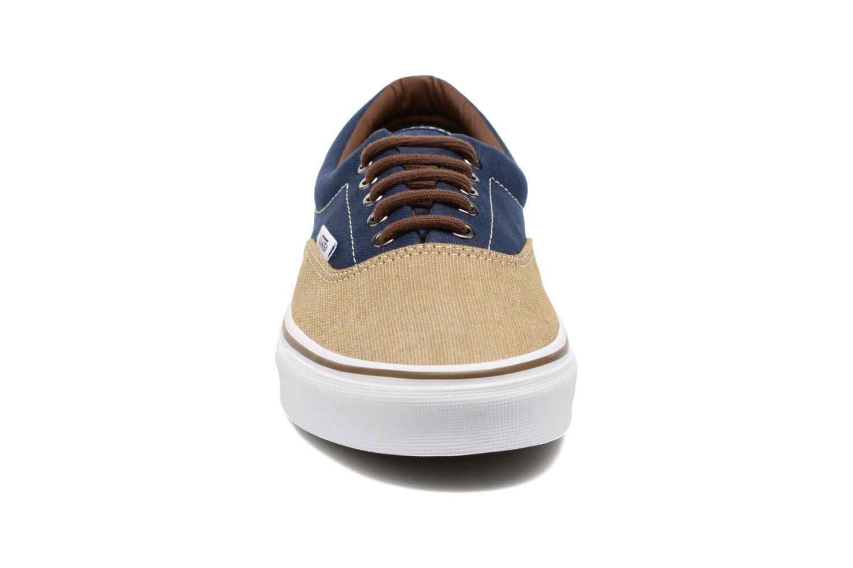 Sneaker Vans Era blau schuhe getragen