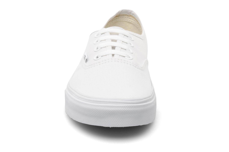Baskets Vans Authentic w Blanc vue portées chaussures