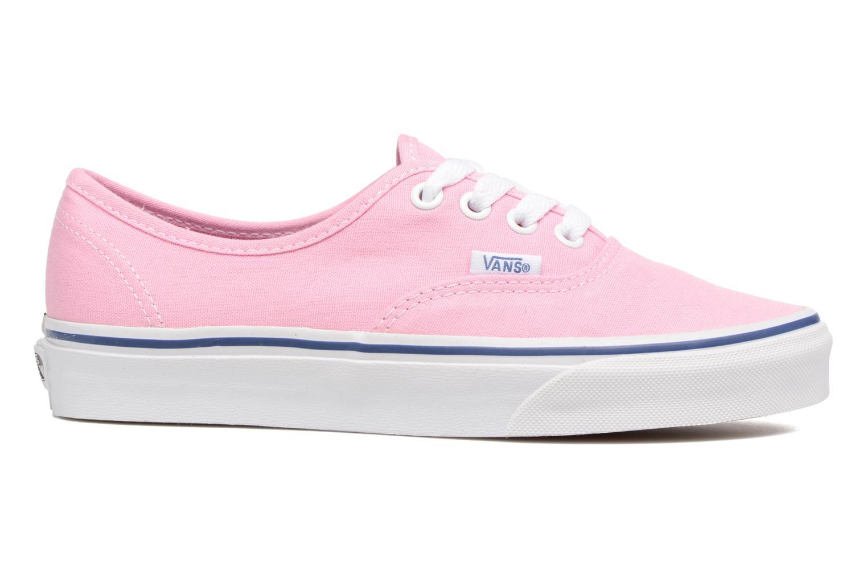Sneaker Vans Authentic w rosa ansicht von hinten