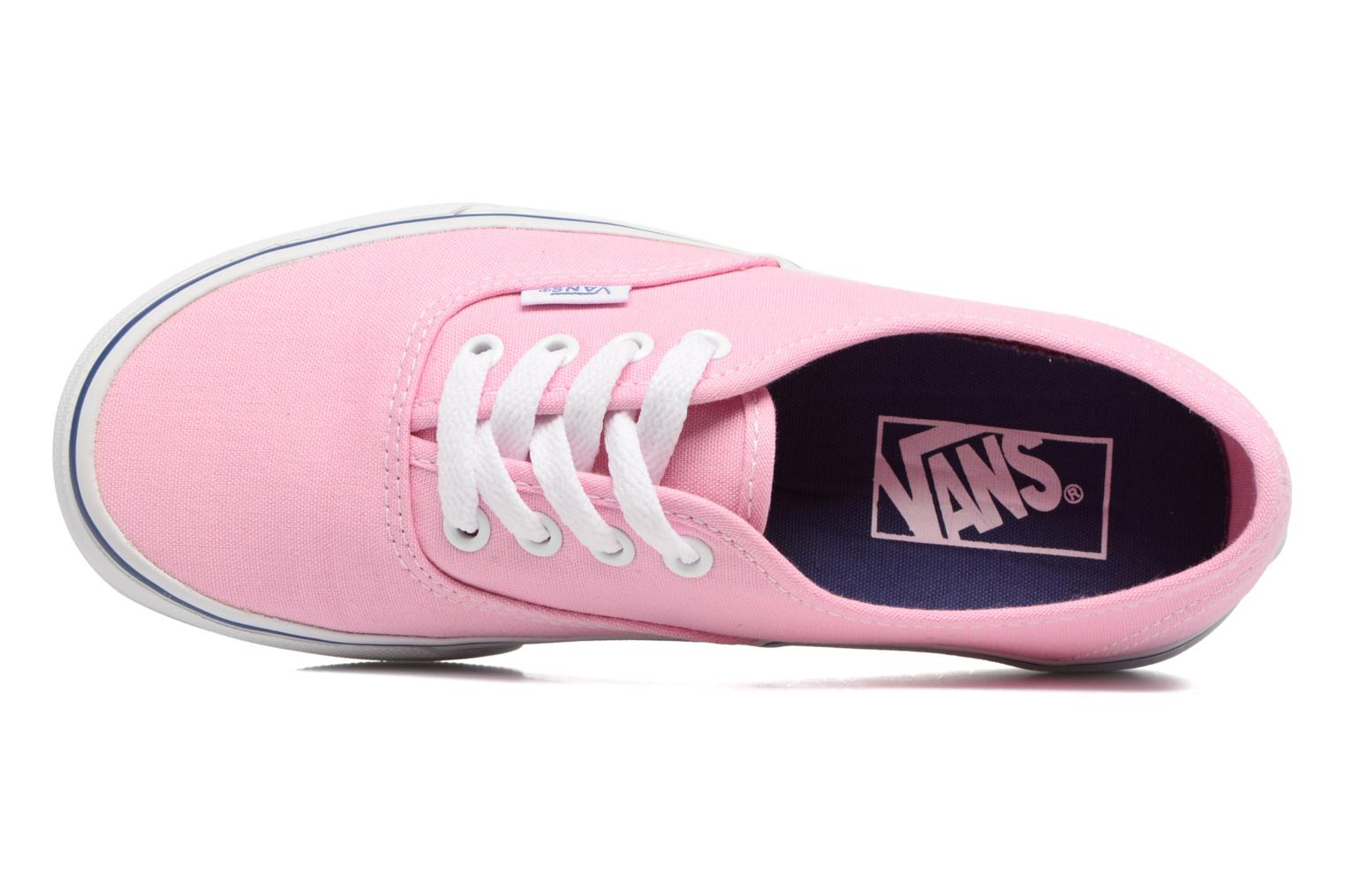 Sneaker Vans Authentic w rosa ansicht von links
