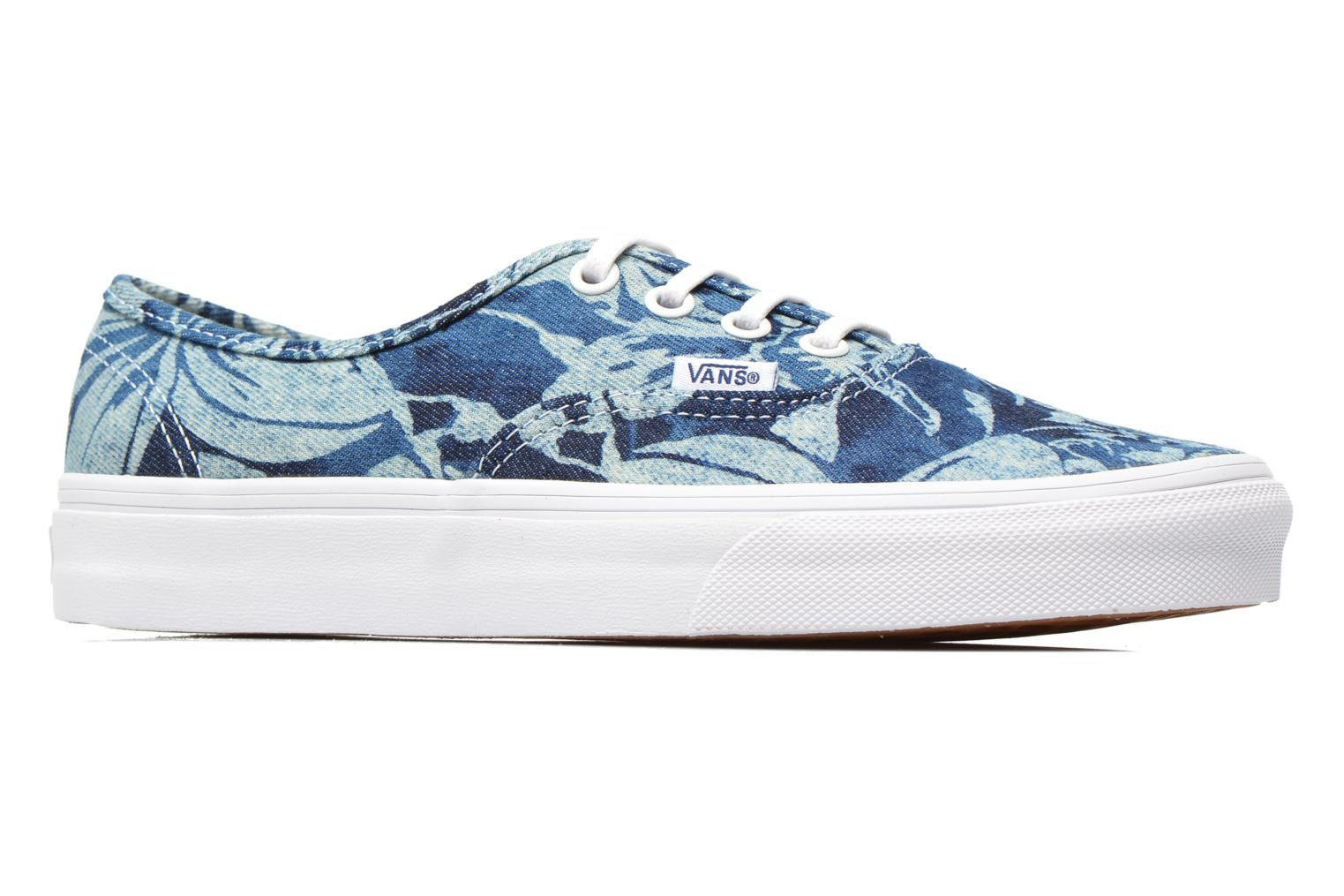 Authentic w (Indigo Tropical) blue/true white
