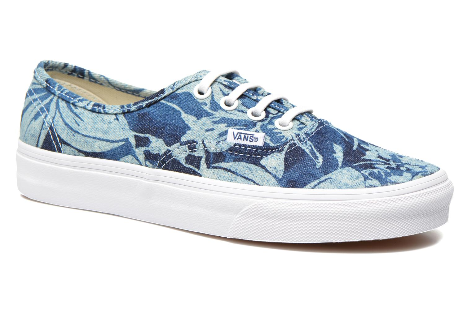 Trainers Vans Authentic w Blue detailed view/ Pair view