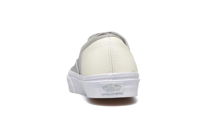 Sneakers Vans Authentic w Wit rechts