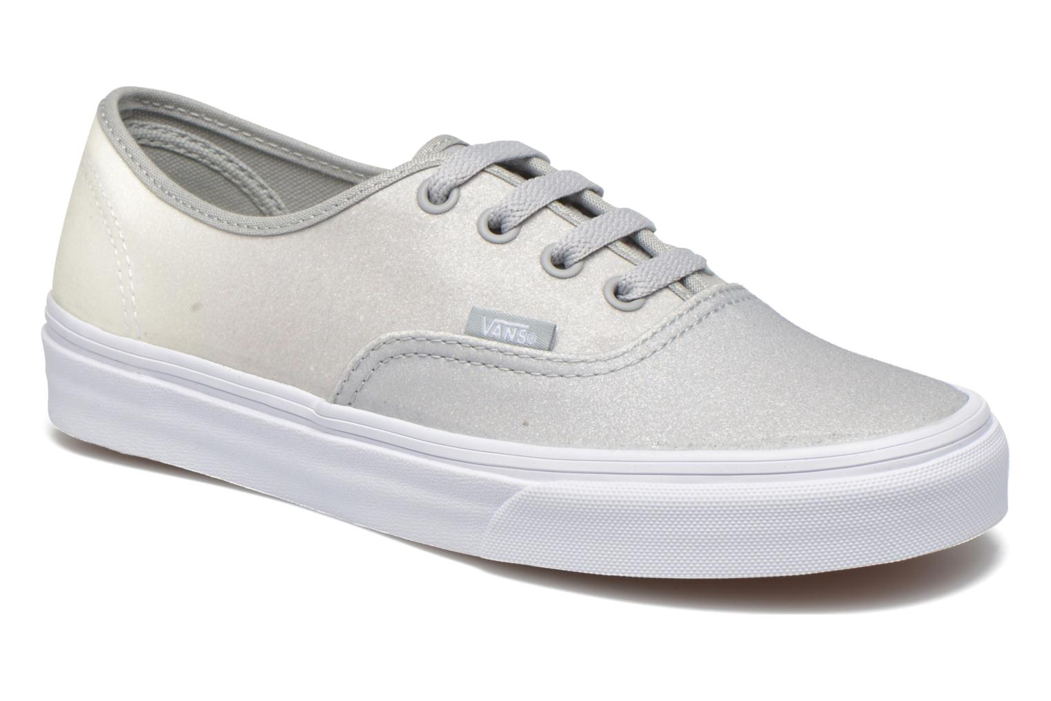 Authentic w (2 Tone Glitter) White/High-Rise